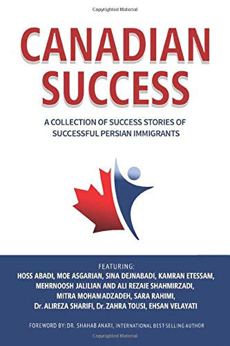 Dr. Alireza Sharifi Canadian Success Book & Success Business